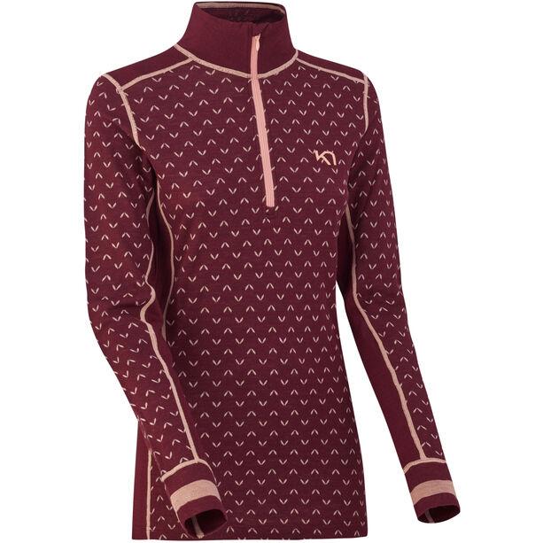 Kari Traa Lus Half-Zip Shirt Women port port