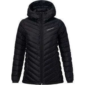Peak Performance Frost Down Hooded Jacket Dam black black