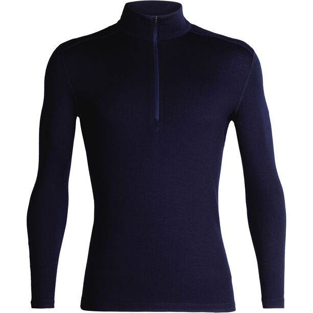 Icebreaker 260 Tech LS Half Zip Shirt Herr midnight navy
