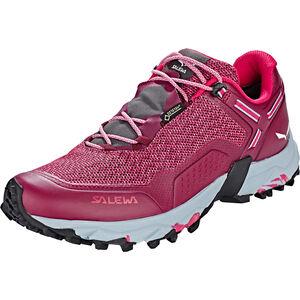 SALEWA Speed Beat GTX Shoes Dam red plum/rose red red plum/rose red