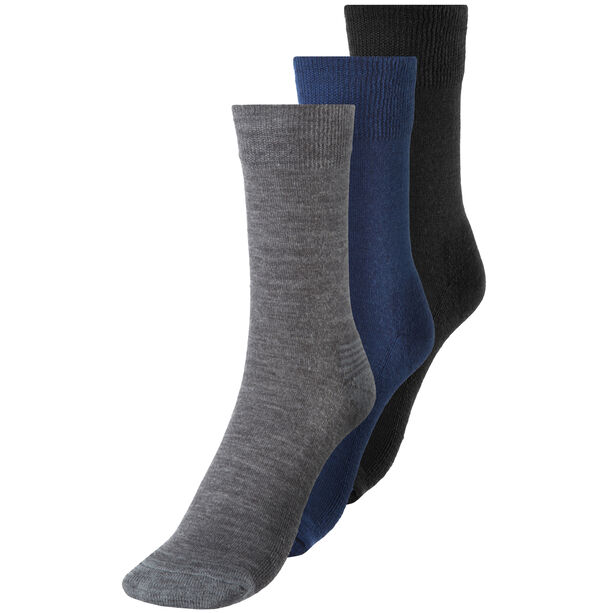 Devold Daily Medium Socks 3 Pack indigo mix