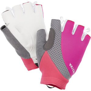 Hestra Apex Reflective Short Finger Gloves fuchsia fuchsia