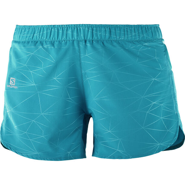 Salomon Trail Runner Shorts Dam enamel blue