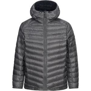 Peak Performance Ice Down Hooded Jacket Herr quiet grey quiet grey