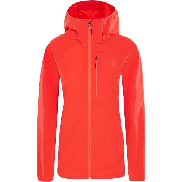 The North Face North Dome Stretch Wind Jacket Dam juicy red