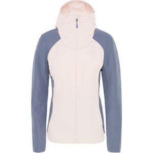 The North Face Invene Softshell Jacket Dam pink salt/grisaille grey pink salt/grisaille grey
