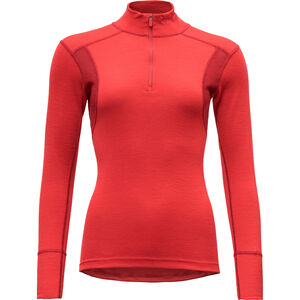 Devold Hiking Half Zip Neck Shirt Dam chilli chilli