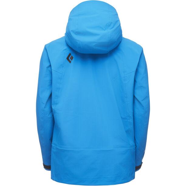 Black Diamond Recon Stretch Ski Shell Jacket Herr bluebird
