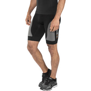 X-Bionic Marathon Pants Short Herr black/pearl grey black/pearl grey