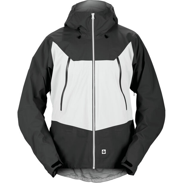 Sweet Protection Salvation Jacket Herr charcoal gray/snow white