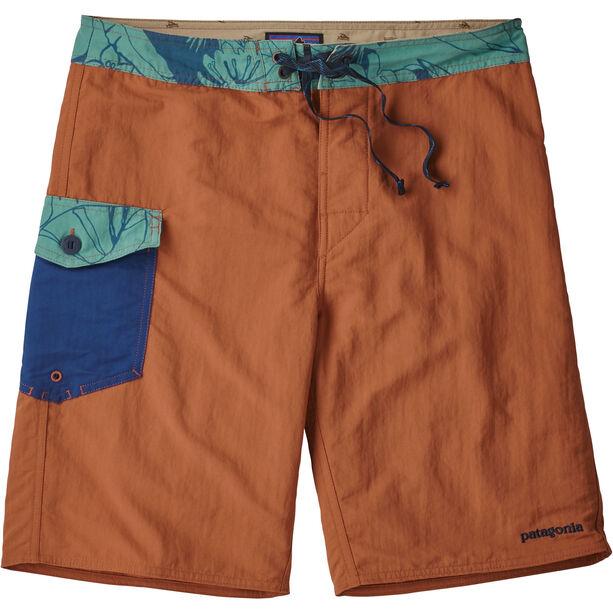 """Patagonia Patch Pocket Wavefarer Boardshorts 20"""" Herr canyon brown"""