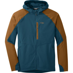 Outdoor Research Ferrosi Hooded Jacket Herr peacock/saddle peacock/saddle