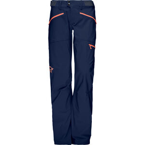 Norrøna Falketind Flex1 Pants Dam indigo night/melon indigo night/melon