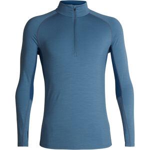 Icebreaker 200 Zone LS Half Zip Shirt Herr granite blue/prussian blue granite blue/prussian blue