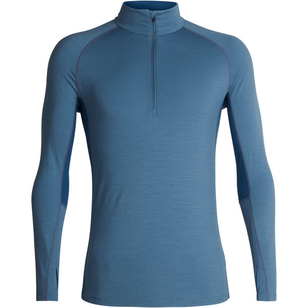 Icebreaker 200 Zone LS Half Zip Shirt Herr granite blue/prussian blue