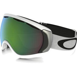 Oakley Canopy Snow Goggles matte white w/prizm jade irid matte white w/prizm jade irid