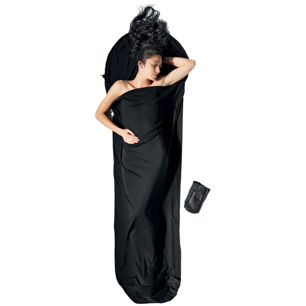 Cocoon Mummyliner Merino Wool Inlet black