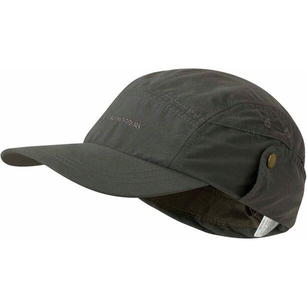 Craghoppers NosiLife Desert Hat Barn dark khaki