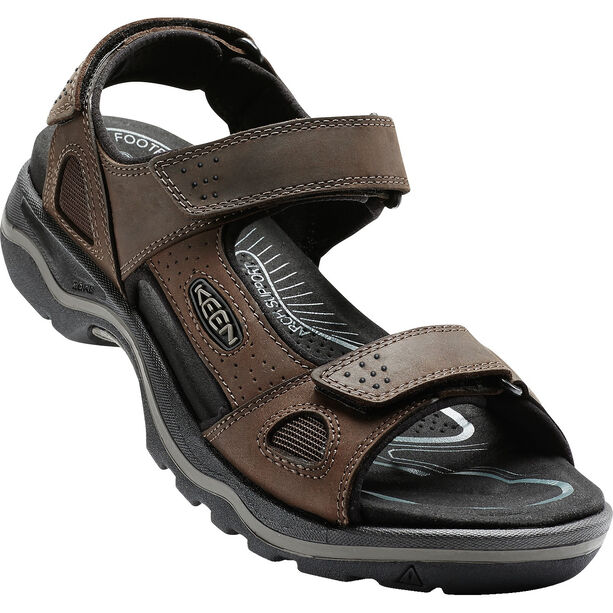 Keen Rialto II 3 Point Sandals Herr dark earth/black