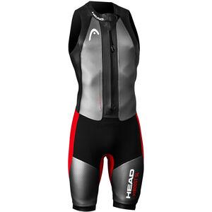 Head Swimrun MyBoost SL Wetsuit Herr black/silver/red black/silver/red