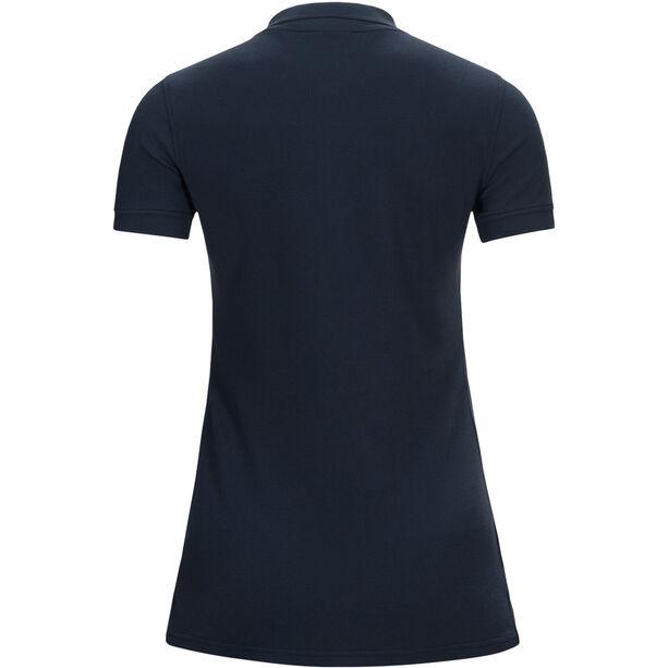 Peak Performance Classic Pique Shirt Dam blue shadow