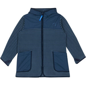 Finkid Kodikas Fleece Jacket Barn blue mirage/navy blue mirage/navy