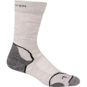 Icebreaker Hike+ Light Crew Socks Dam blizzard/white/oil blizzard/white/oil