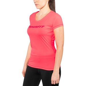 Dynafit Traverse SS Tee Dam fluo coral fluo coral