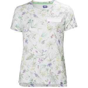 Helly Hansen Lomma T-shirt Dam white print white print