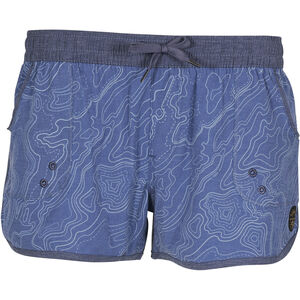 United By Blue Topography Boardshorts Dam blue blue