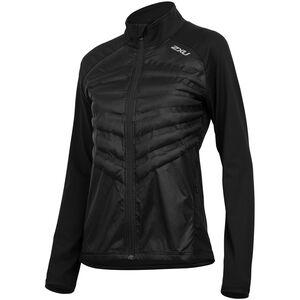 2XU Heat Half Puffer Jacket Dam black/black black/black