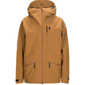 Peak Performance Radical Jacket Herr Honey Brown Honey Brown