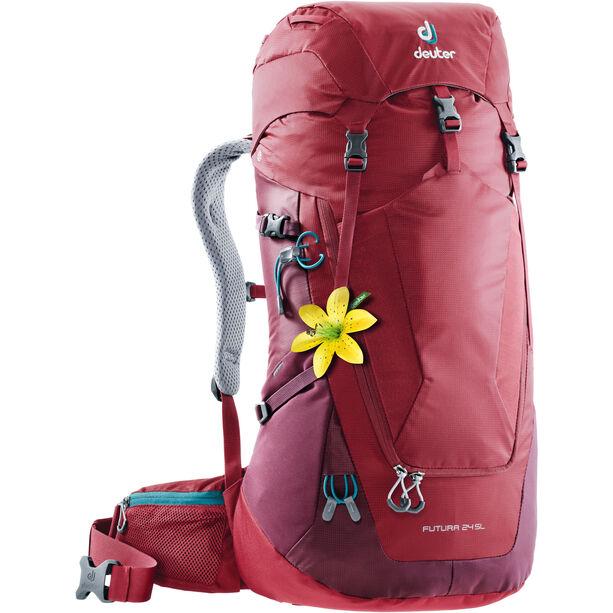 Deuter Futura 24 SL Backpack Dam cranberry-maron
