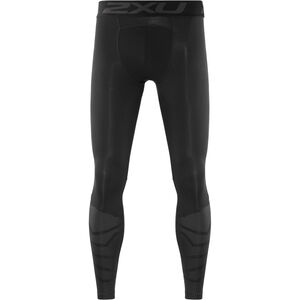 2XU Accelerate Compression Tights with Storage Herr Black/Black Peak Angle Print Black/Black Peak Angle Print