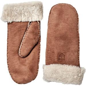 Hestra Sheepskin Mittens Dam brown brown
