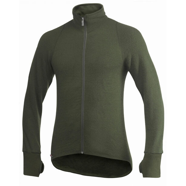 Woolpower 400 Full Zip Thermo Jacket pine green