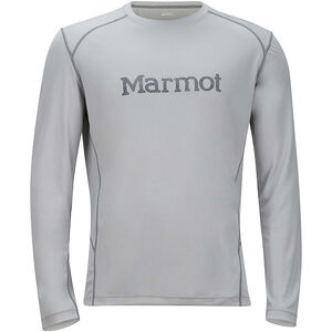Marmot Windridge Graphic Longsleeve Herr bright steel/grey storm bright steel/grey storm