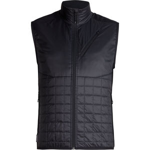 Icebreaker Helix Vest Herr black/jet heather black/jet heather