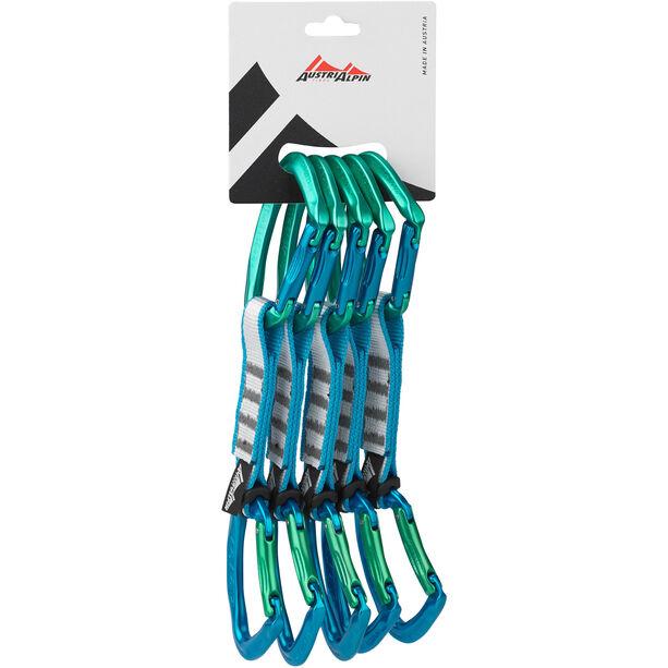 AustriAlpin Eleven Quickdraw Set 11cm 5 Pieces green-blue