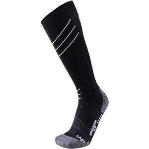 UYN Ski Superleggera Socks Herr black/white black/white
