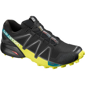 Salomon Speedcross 4 Shoes Herr black/sulphur spring