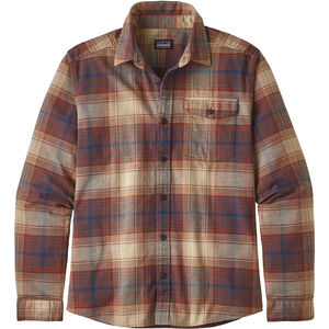 Patagonia Lightweight Fjord LS Shirt Herr canopy/sisu brown canopy/sisu brown