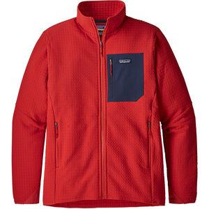 Patagonia R2 TechFace Jacket Herr fire fire