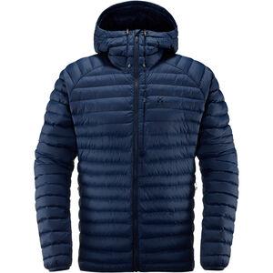 Haglöfs Essens Mimic Hooded Jacket Herr tarn blue