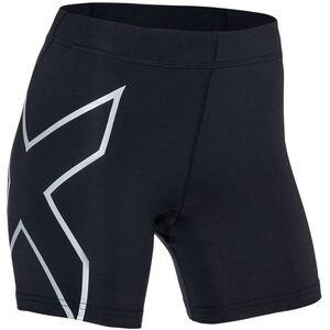 """2XU TR2 Compression 5"""" Shorts Dam black/silver black/silver"""
