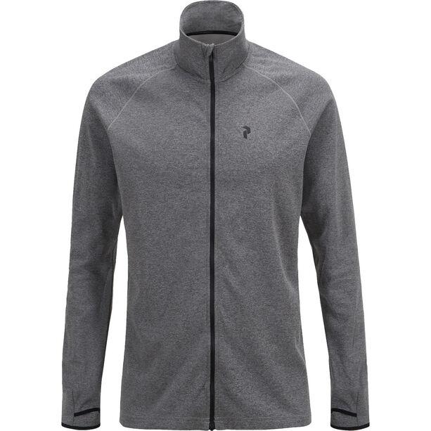 Peak Performance Power Z Sweatshirt Herr grey melange