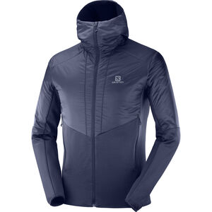 Salomon Outline Warm Jacket Herr Night Sky Night Sky