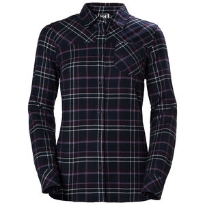 Helly Hansen Classic Check LS Shirt Dam nightshade plaid nightshade plaid