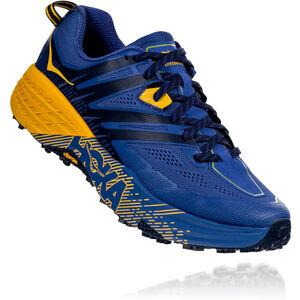Hoka One One Speedgoat 3 Running Shoes Herr galaxy blue/old gold galaxy blue/old gold