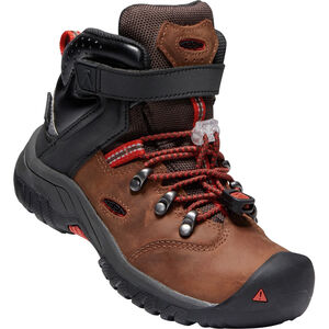 Keen Torino II WP Mid Shoes Barn tortoise shell/fiery red tortoise shell/fiery red